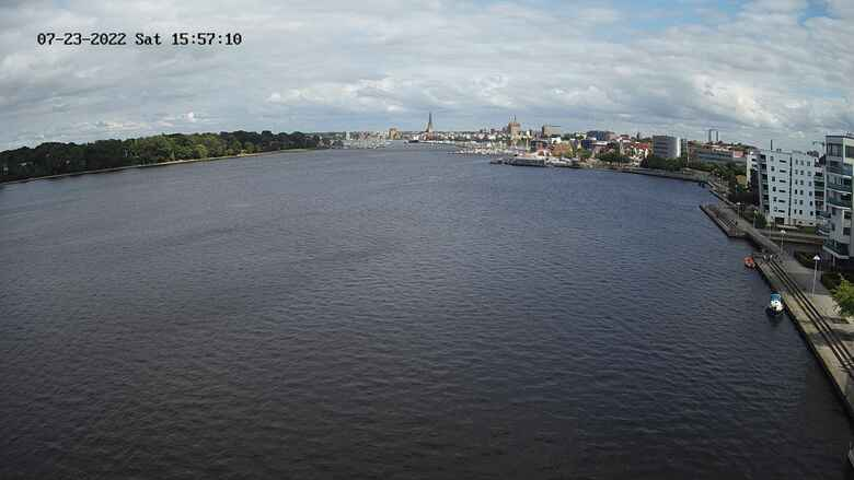 Webcam Warnow Oehm und Rehbein